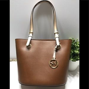 NEW Michael Kors tote luggage medium bag purse